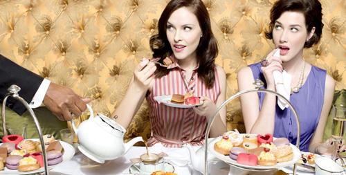 High tea met vriendinnen voor mijn verjaardag