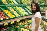 Wie bepaalt de looproute door de supermarkt