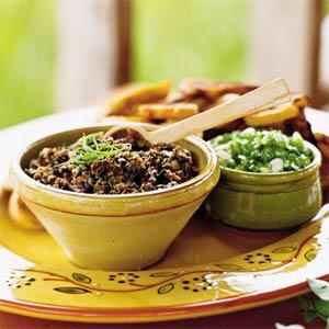 Recept voor tapenade met zwarte olijven