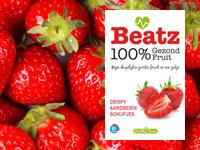 Ken jij Beatz Fruit al? Dat is 100% fruit in een handig zakje