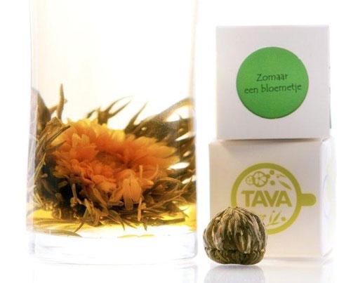 Theebloem van Tava Tea