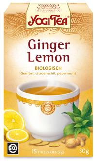 """Wonderbaarlijk """"oppeppende"""" Yogi Tea Ginger Lemon Koekjes"""