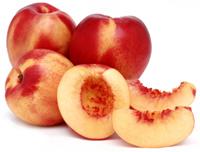 Soja fruitsmoothie met gele vruchten drank van Alpro
