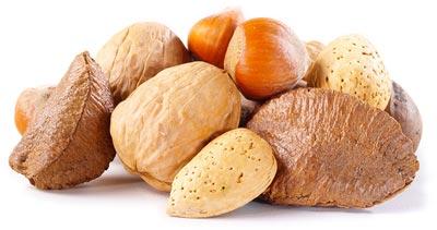 Walnoot, paranoot en andere noten
